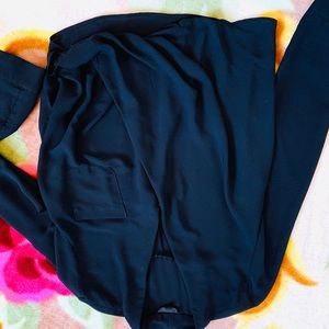 Tops - Topshop black blouse